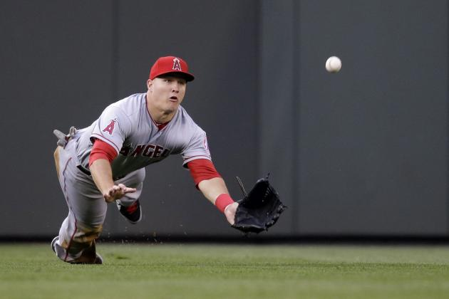 Mike Trout's Back Injury Is Minor Now, but Do LA Angels Need to Worry?