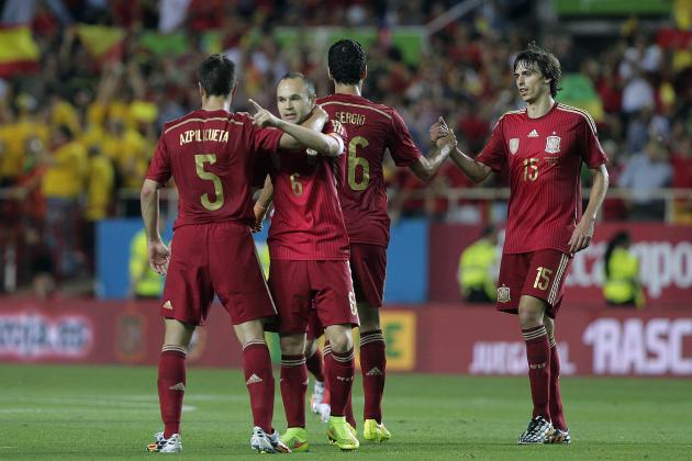 Spain World Cup Roster 2014: Starting XI and Squad Analysis
