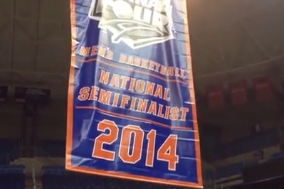 Video: Florida Raises 2014 Final Four Banner to the Rafters