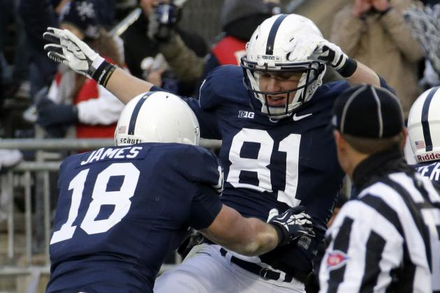 Penn State Football: Tight Ends Part of Bill O'Brien's Nittany Lion Legacy