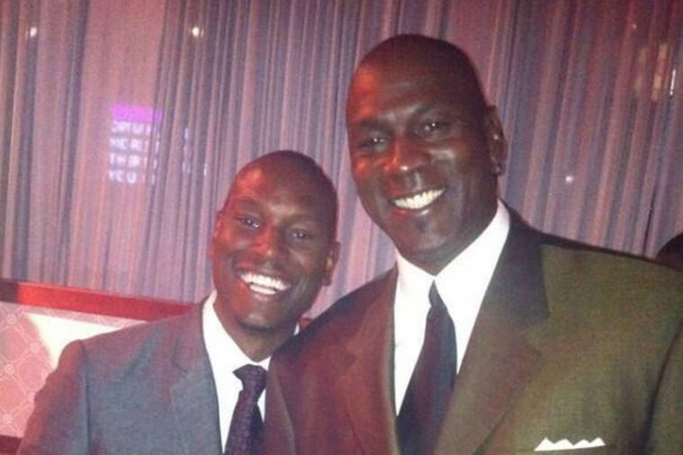 Tyrese Gibson Sees a Resemblance to Michael Jordan in His Photo, Calls MJ