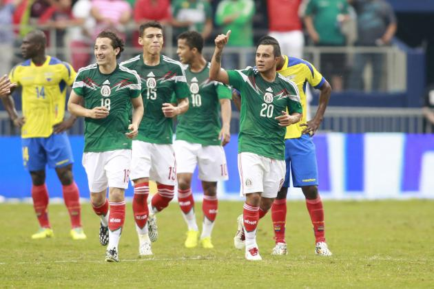 Mexico World Cup Roster 2014: Starting XI and Squad Analysis