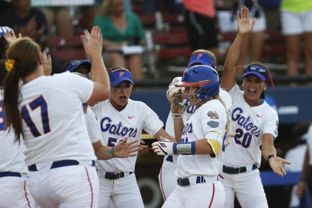 College Softball World Series 2014: Alabama vs. Florida Game 2 Score and Recap