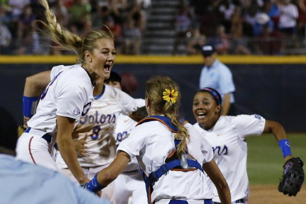 College Softball World Series 2014: Key Players to Florida's Title Run