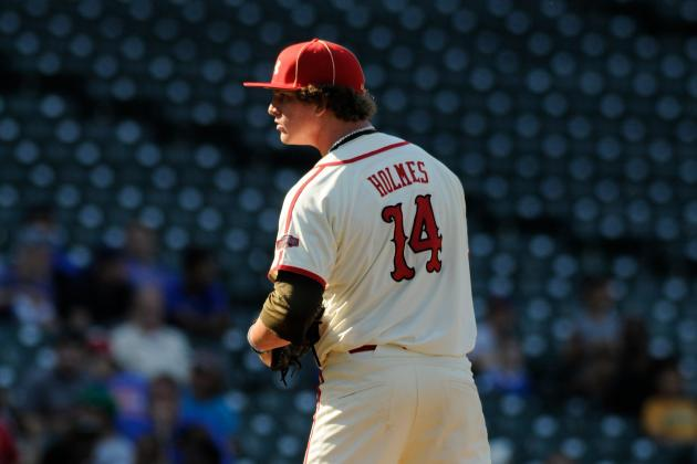Grant Holmes: Prospect Profile for Los Angeles Dodgers' 1st-Round Pick