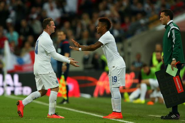 Wayne Rooney and Raheem Sterling England Selection Issues Trouble Roy Hodgson