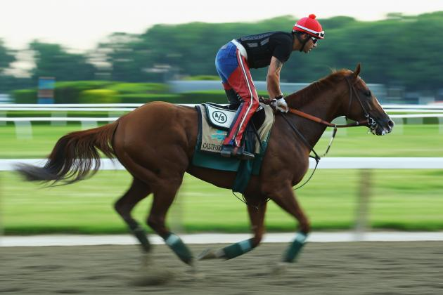 Belmont Stakes 2014 Post Positions: Complete List for Every Horse
