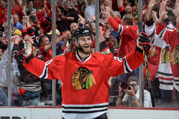 Blackhawks' Saad Takes Gigantic Step in Sophomore Season