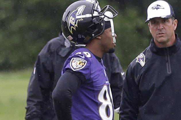 Steve Smith, Joe Flacco Looking to Build Chemistry, Timing