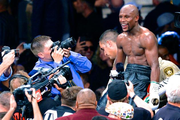 Floyd Mayweather Wants Mega Wembley Fight as Amir Khan Is Given Fresh Hope