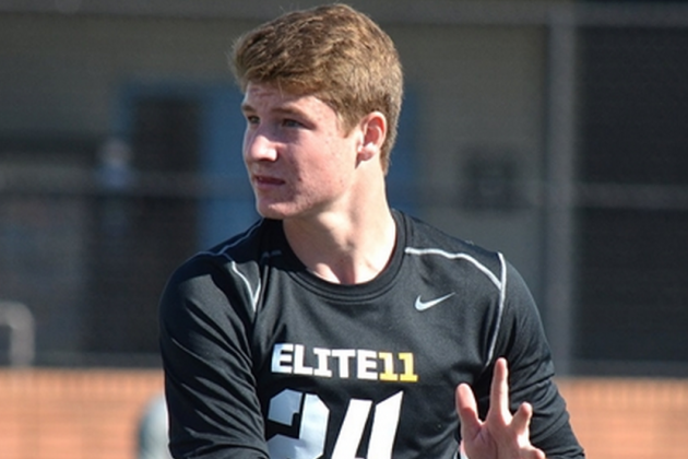 Notre Dame QB Recruit Blake Barnett Visits Oregon