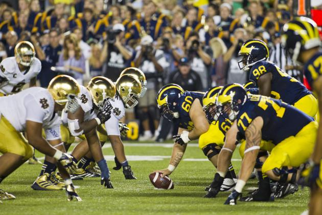 ND-Michigan Finale Most Expensive Ticket