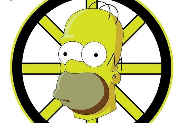 Graphic Designer Uses 'The Simpsons' to Redesign NHL Logos