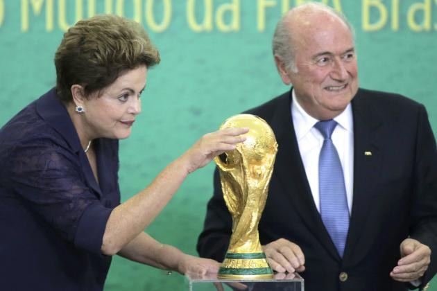 Brazilian President Dilma Rousseff Hits Back at World Cup Critics