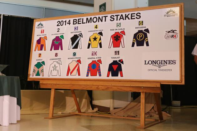 Belmont Stakes 2014: Post Positions, Odds and Race Schedule for Elmont