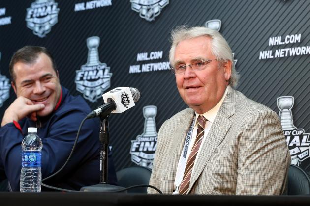Relaxed Rangers GM Glen Sather Confident in the Roster He's Built