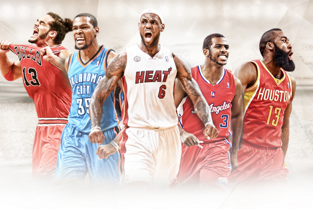 LeBron James, Kevin Durant, Chris Paul Headline 2014 All-NBA Teams