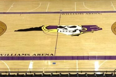 Photo: Check out East Carolina's Newly Designed Basketball Court