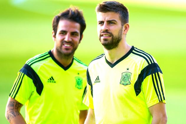 Gerard Pique to Vicente del Bosque: Cesc Fabregas' €33m Barcelona Exit Is Done