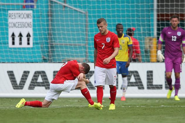 England Show the Old Defensive Deficiencies in Ecuador Draw