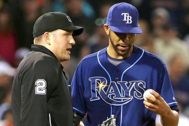 David Price Reportedly Fined for Role in Rays vs. Red Sox Scuffle