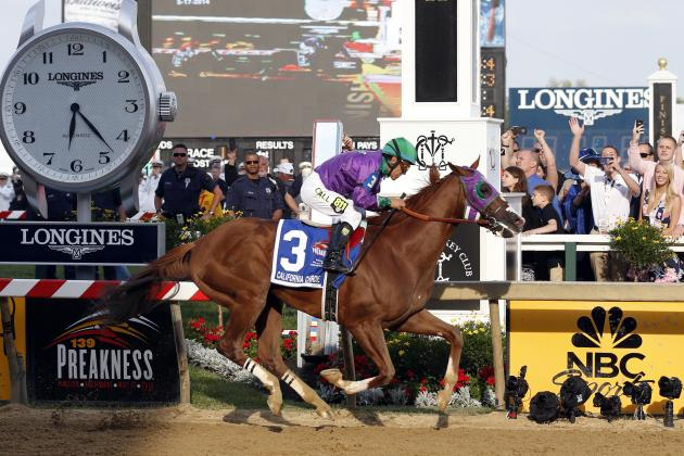 California Chrome's Belmont Stakes Post Position Bodes Well for Triple Crown Run
