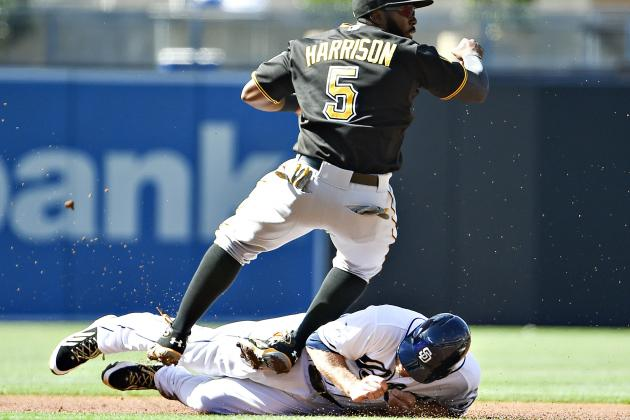 Padres Get Just 1 Hit, Still Beat Pirates 3-2