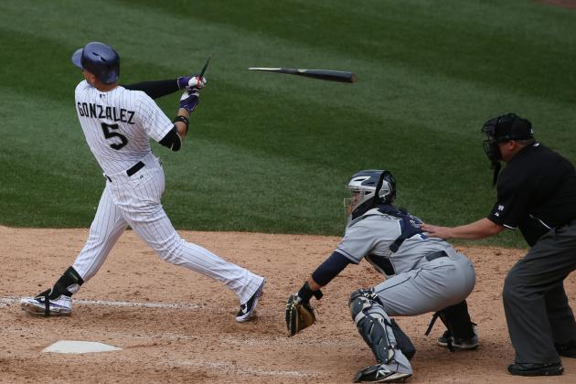 Latest Injury for Carlos Gonzalez Could Make Things Rocky for Colorado