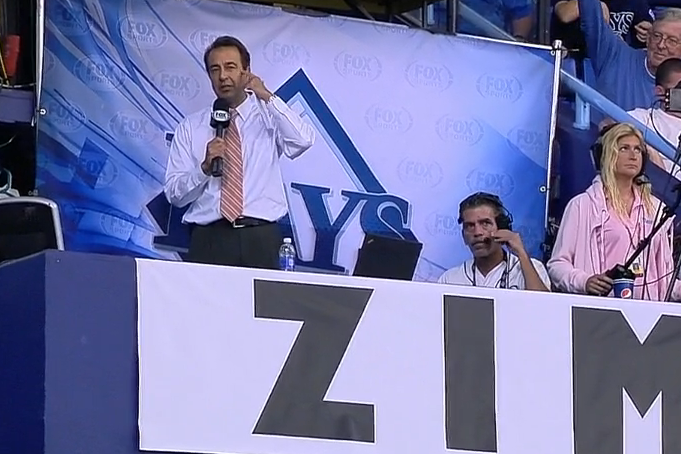 Rays Broadcaster Todd Kalas Gets Emotional When Reporting Don Zimmer's Death