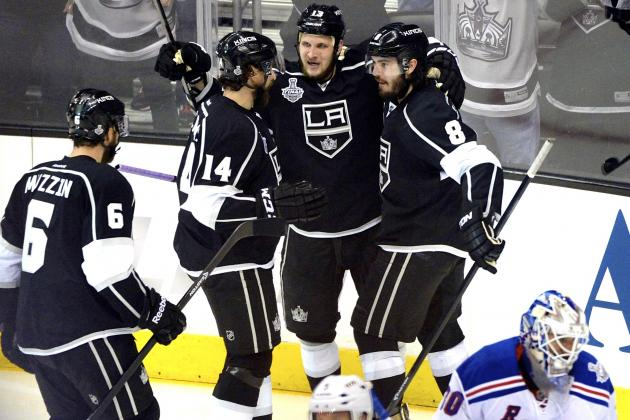 Rangers vs. Kings Game 1: Live Score, Highlights for Stanley Cup Final 2014