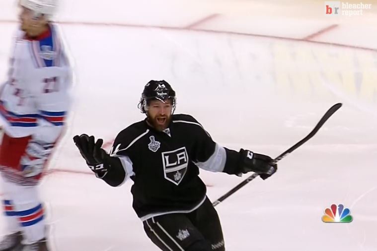 Kings Take a 1-0 Series Lead in Stanley Cup Finals on Williams' OT Game-Winner