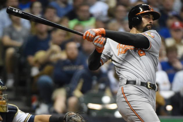Markakis' Homer, Single Help O's Top Rangers 6-5