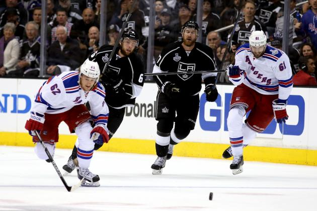 Rangers' Speed Will Continue to Cause Problems for Kings in Stanley Cup Final
