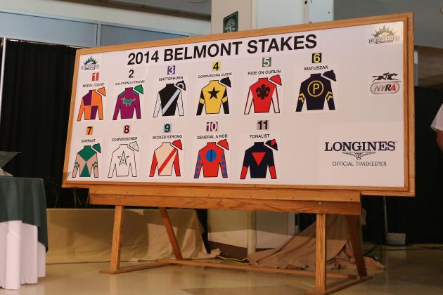 Belmont Stakes Field 2014: Post Positions, Odds and Predictions for All Horses