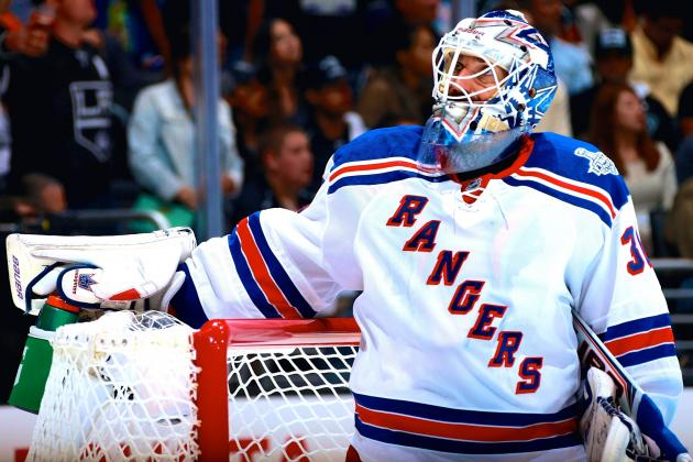 Rangers Squander Great Showing from Henrik Lundqvist in Game 1 Loss vs. Kings