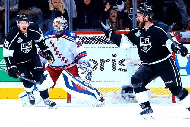 Unwavering Kings Impose Will on Rangers to Erase Early Deficit in Game 1 Win