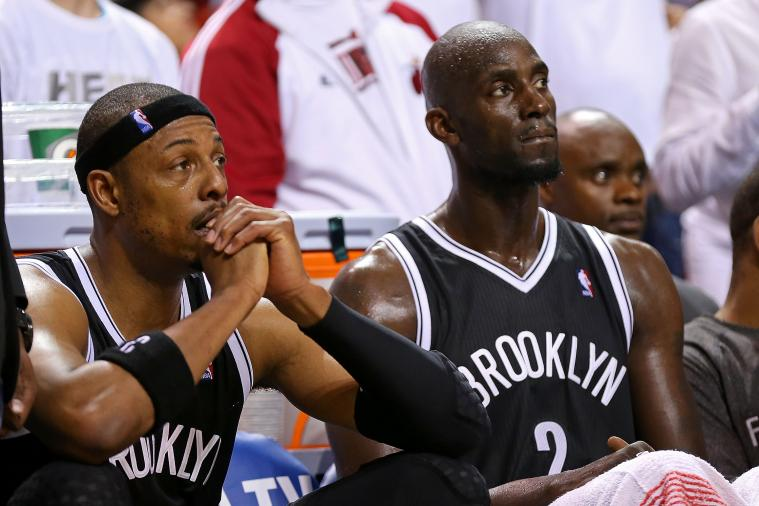 Are Nets Better off with or Without Paul Pierce and Kevin Garnett Next Season?