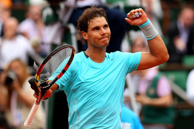 Rafael Nadal Winning at 2014 French Open with More Aggressive Strategy