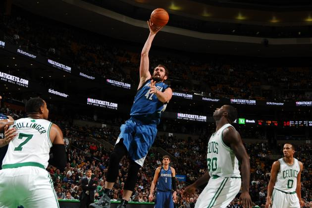 Boston Celtics: Would Kevin Love Make Them a Contender in the East?