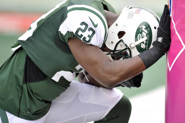 Mike Goodson Still a No-Show at Jets OTAs, as Rex Ryan Says,
