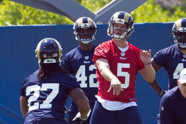 Gilbert Embracing Opportunity with Rams