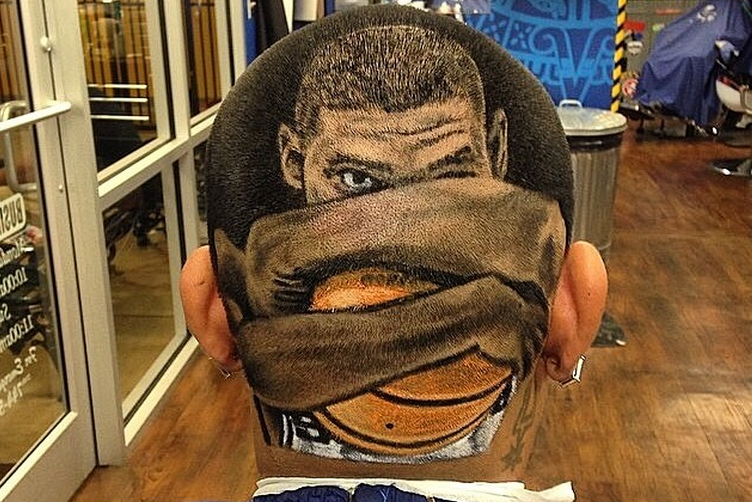 Barber Shop San Antonio : Spurs Fans Prepare for the NBA Finals with Extravagant Haircuts ...