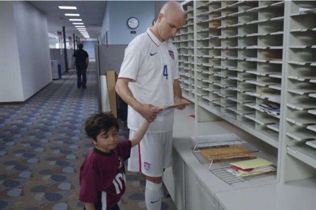 USMNT's Michael Bradley Stars in Perfect New SportsCenter Commercial