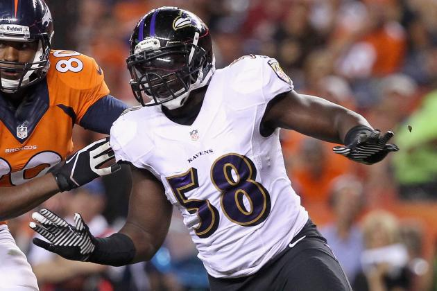Yanda, Dumervil Among Ravens' No-Shows
