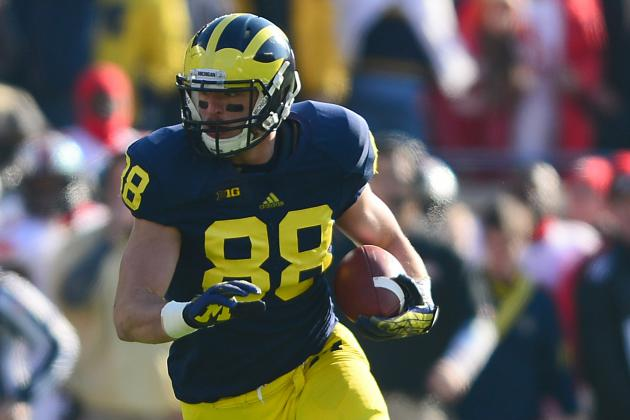 Michigan Still Hopeful Jake Butt Will Be Back in Early 2014