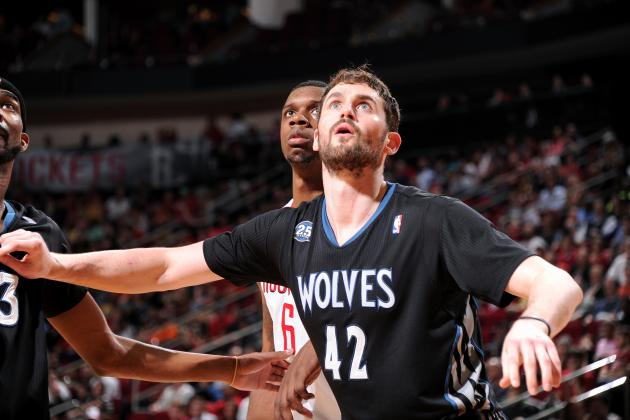 Houston Rockets Should Chase Kevin Love Trade to Create Dominant Big 3