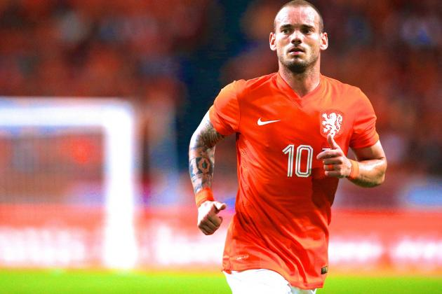 Why Wesley Sneijder Is Under Most Pressure for Netherlands After Wales Friendly