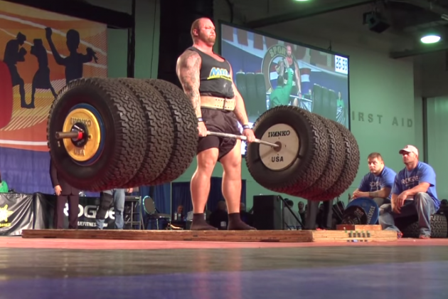 Here's Video of the 'Mountain' from 'Game of Thrones' Deadlifting 994 Pounds