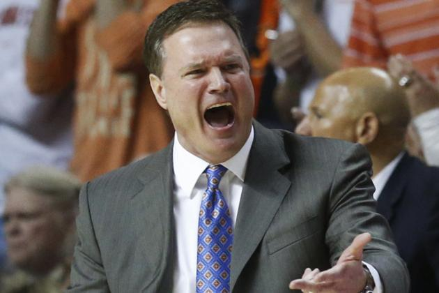 KU Coach Bill Self Still in Favor of Shorter Shot Clock