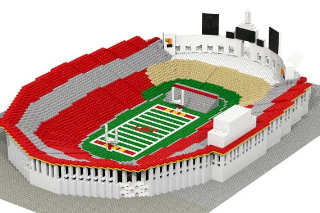 Multiple Big-Name College Football Stadium Replicas Get Made Out of Legos